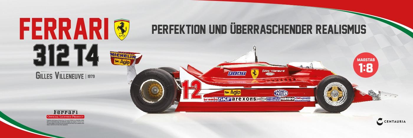 Bauen Sie den Ferrari 312