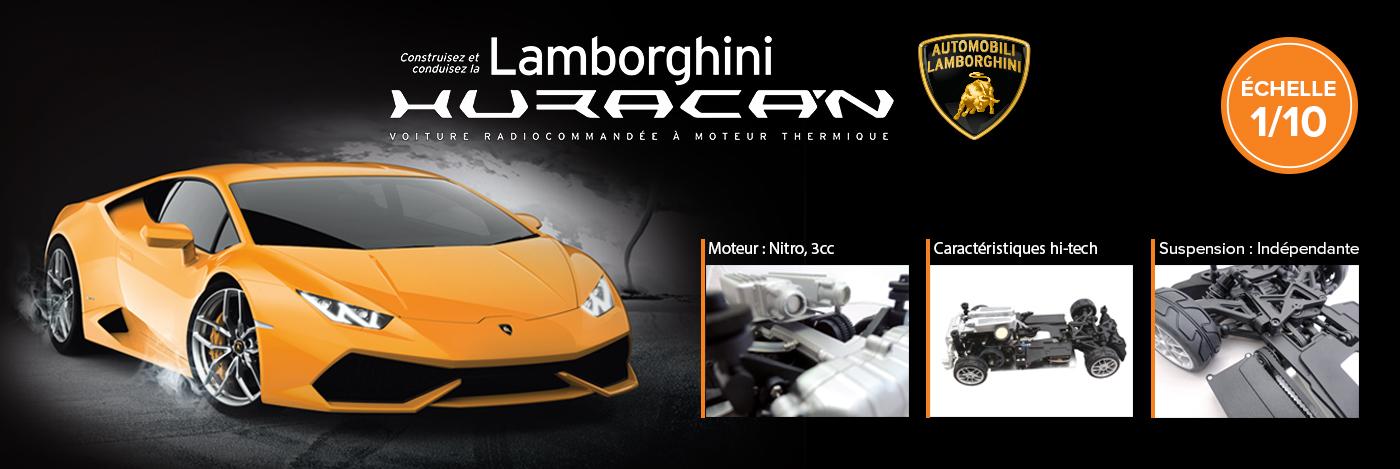 Construisez et pilotez votre Lamborghini Huracan