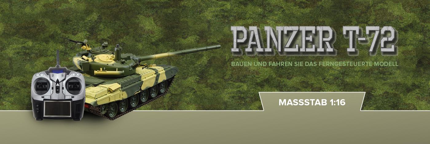 Russischer Panzer T-72