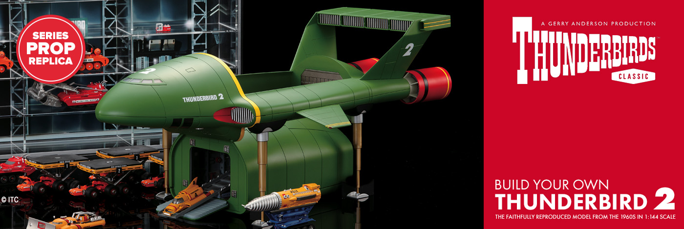 Build The Thunderbird 2 Model Kit 1 144 Scale Modelspace