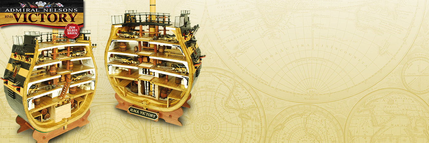HMS Victory Cross-Section