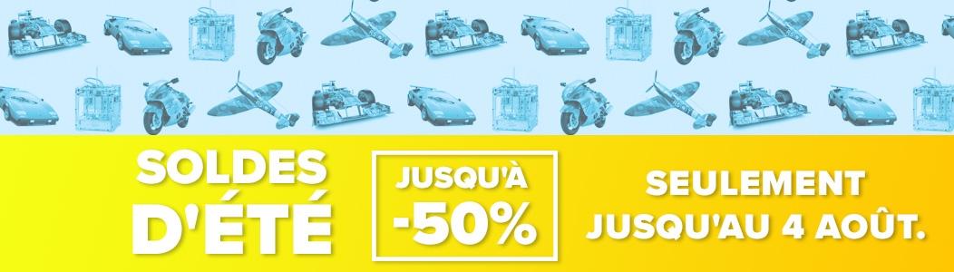 Soldes d'été - jusqu'à 50 % de reduction