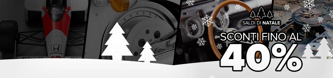 Saldi di Natale - Sconti fino al 40%