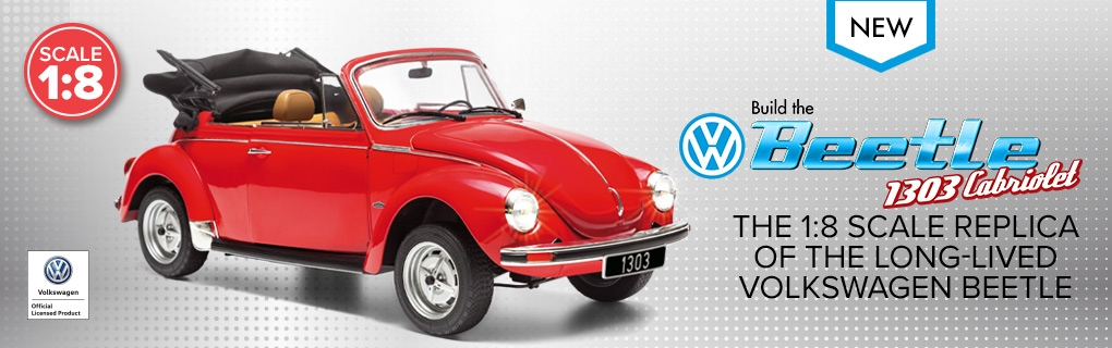 Build The Vw Beetle 1303 Cabriolet Model Coming Soon