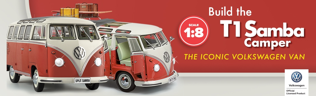 VW T1 Camper Van Model Kit