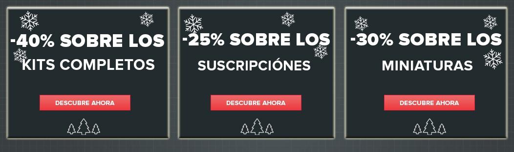 Rebajas de Navidad - Hasta 40% de descuento