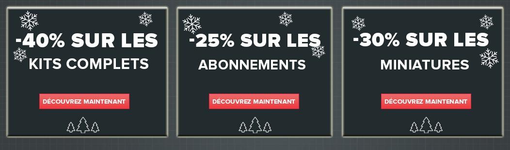 Promo de Noël : Jusqu'à  40% de réduction